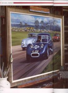 G128 painting by Michael Turner commissioned by Jackie Stewart