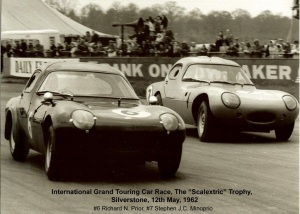 Silverstone International GT Race 1962-05-12 Dick Prior Steve Minoprio
